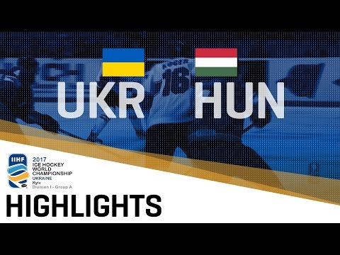 Ukraine - Hungary | Highlights | 2017 IIHF Ice Hockey World Championship Division I Group A