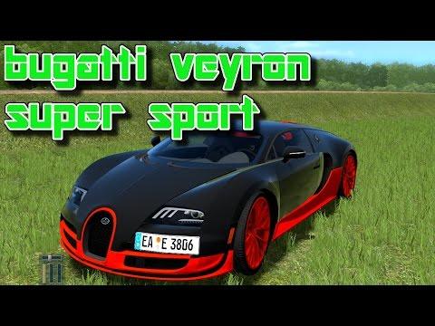 #145  City Car Driving Bugatti Veyron Super Sport [Deutsch]