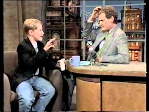 Macaulay Culkin - 06-09-94 Letterman