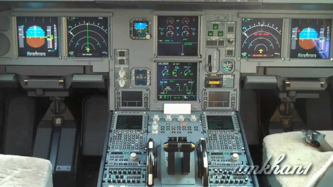 A Airbus Cockpit Tour