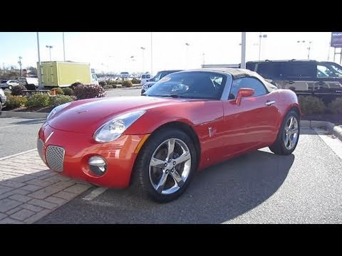 2008 Pontiac Solstice Start Up. Engine. and In Depth Tour