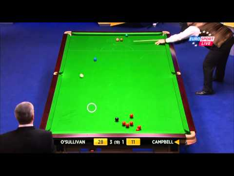 2013.World.Snooker.Championship.Round.1.Ronnie.O.Sullivan.vs.Marcus.Campbell.First.Session.ENG