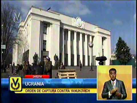 Ucrania ordena arresto del destituido presidente Viktor Yanukovich