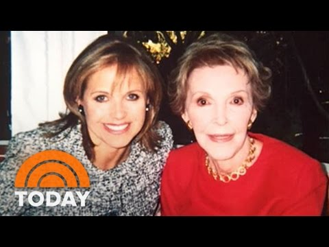 Katie Couric: Nancy Reagan's 'Icy' Exterior Was Deceptive | TODAY