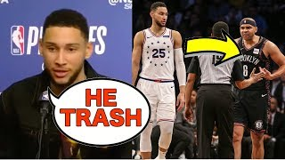 Ben Simmons Takes Shots At Jared Dudley After 76ers Win