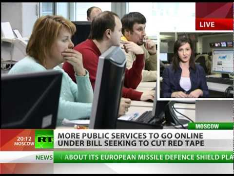 Russian bureaucracy is moving online