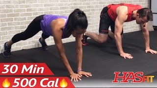 30 Minute Cardio HIIT Workout for People Who Get Bored Easily - Home Workout without Equipment no