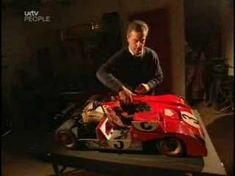 Ferrari 312 PB replica scale model. Must Watch!!!