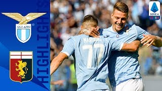 Lazio 4-0 Genoa | Lazio Hit 4 In Huge Win Against Genoa | Serie A
