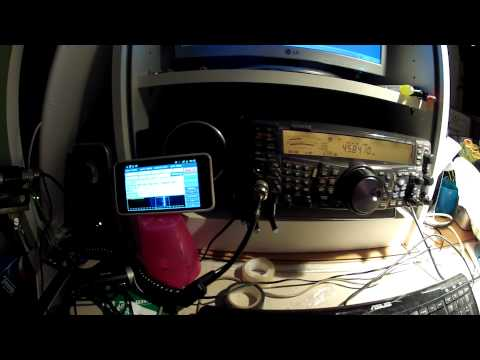 12_01_18: RTTY signal Decoded with Android Galaxy SII