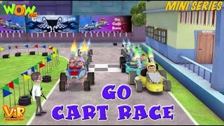Go Cart Race - Vir Mini Series - Vir The Robot Boy - Live In India