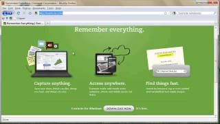 Evernote Tutorial