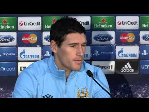 City v Ajax: Gareth Barry preview UCL 12/13