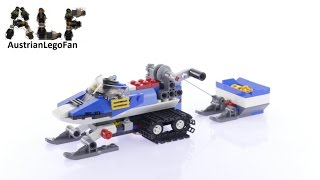 Lego Creator 31049 Snowmobile Twin Spin Helicopter Model 2of3 - Lego Speed Build Review