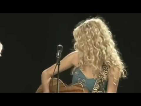 Taylor Swift's first song- Tim McGraw