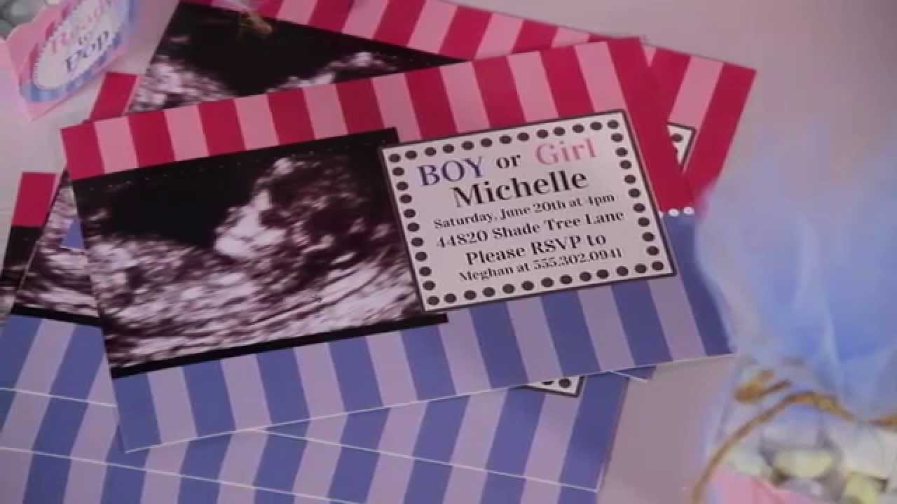 Party Supplies - How to Throw a Baby Shower - Gender ...