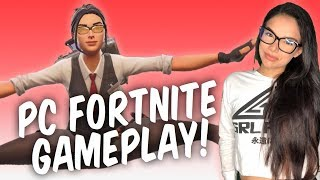 ⚪*New Port-a-Fortress Update!* // Brand New PC Player! // Fortnite Battle Royale // 750 Wins