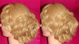 DUTCH FLOWER BRAID | RECOGIDO EN FLOR | UPDOS HAIRSTYLES |  VIRIYUEMOON