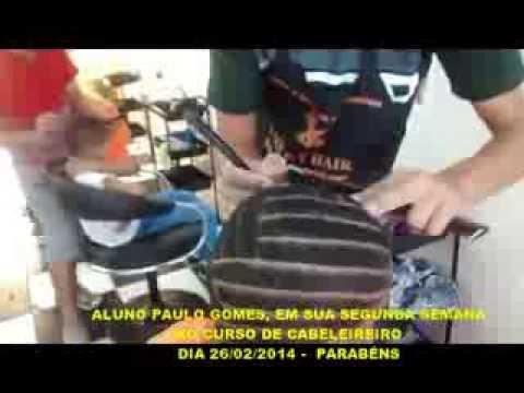 DESENHO COM NAVALHA - ALUNO PAULO GOMES