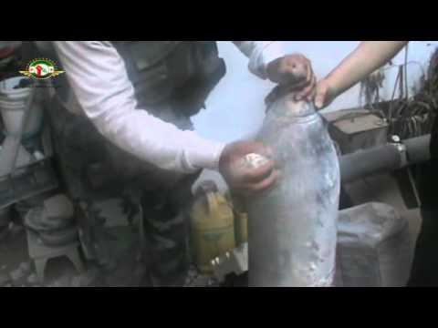 حمص جورة الشياح  احد ابطال الجيش الحر والصاروخ العجيب