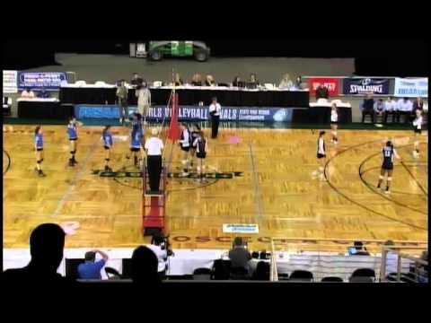 2012 FHSAA Class 2A Volleyball Final- Foundation Academy vs Lake Worth Christian - 11/17/2012