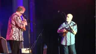 Gerald Ross and Ken Middleton play the Tennessee Waltz - Cheltenham Uke Festival 2012