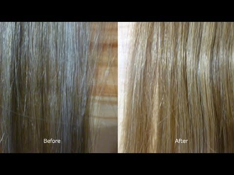 Tone Your Extensions Or Hair With Ice Cream Youtube
