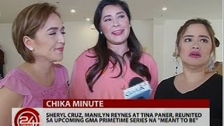 Sheryl Cruz, Manilyn Reynes at Tina Paner, reunited sa upcoming GMA series na