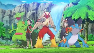 Trailer anime Pokmon Rubis Omga et Saphir Alpha