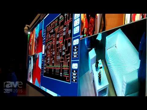 ISE 2015: Unilumin Features UTV0.8 LED Display