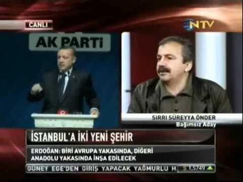 Sırrı Süreyya Önder'den çarpıcı açıklamalar.