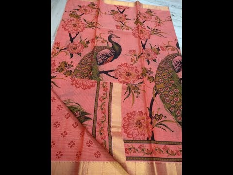 Latest Designer Jacquard Sarees With Price/ Fashion Sarees/ Fashion9tv