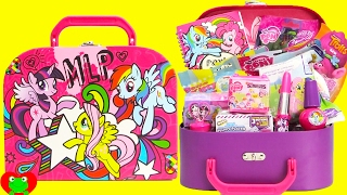My Little Pony Journal Stationary Set Lipstick Pen and Surprises