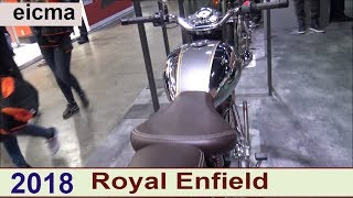 The Royal Enfield 2018 Motorcycles