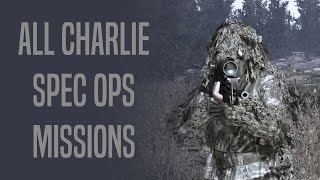 Special Ops - Charlie Missions SOLO - 3 Stars - MW2
