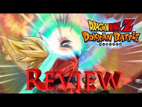 Dragon Ball Z Dokkan Battle QUICK REVIEW!