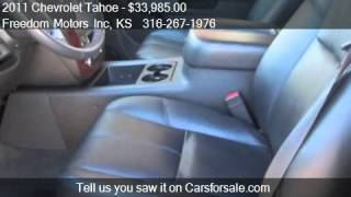 2011 Chevrolet Tahoe LT 4WD - for sale in Wichita, KS 67214