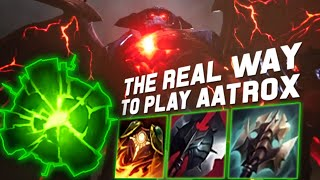 DON'T BE FOOLED SADLY AATROX IS A TANK ! REWORKED AATROX TOP GAMEPLAY [ SOMEHOW CLUNKIER ]