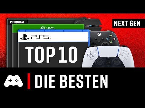 TOP 10 ► Die besten neuen Spiele für PS5 und Xbox Series X + PC