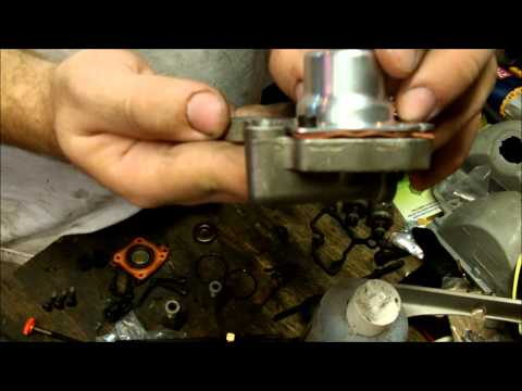 Rebuilding and modifying a GM TBI Fuel Injection Unit
