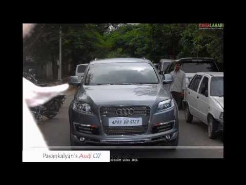 Cars Of South Indian Film Stars. video