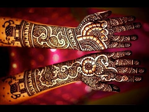 Awesome Mehndi   Henna Designs For Every Occasions Like Marriage Diwali Eid Dusshera 2014-2015 video