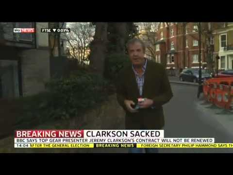 Jeremy Clarkson Dropped From Top Gear By The BBC