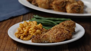 Easy Smoky Oven Fried Chicken • Tasty