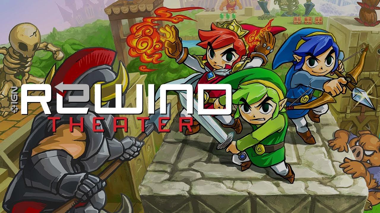 Zelda: Tri Force Heroes - Rewind Theater