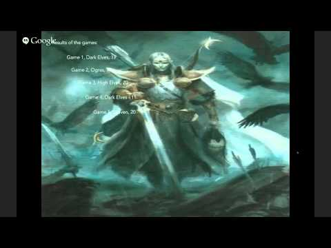 Lord Malossar at the Quake City Rumble: High Elves Tournament Review