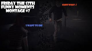Friday the 13th funny moments montage #7