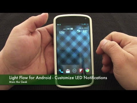 Light Flow for Android - Customize your LED Notifications