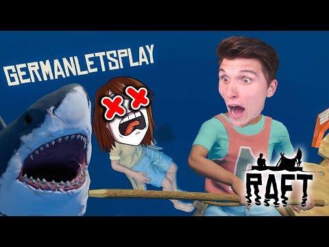 Er wird vom Hai gefressen! ☆ Raft #10