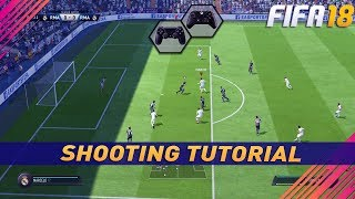 FIFA 18 SHOOTING TUTORIAL - HOW IMPROVE THE EFICIENCY OF THE DRIVEN SHOTS